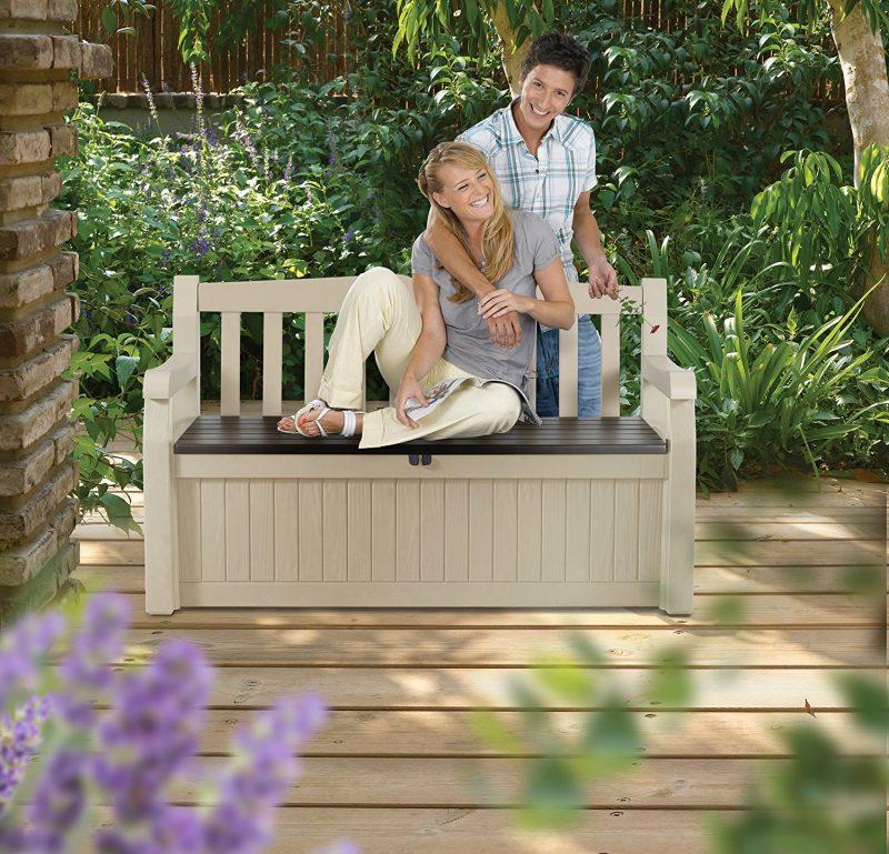 Storage Bench Keter Eden Outdoor Simplify Stuff