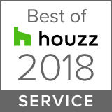 Logo for 2018 Best of Houzz Service Award