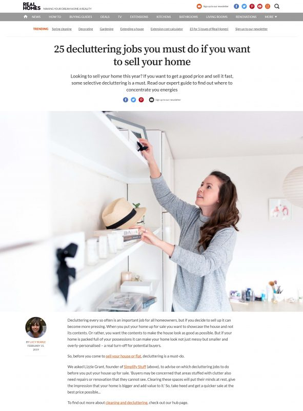 Real Homes article