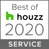 Logo for 2020 Best of Houzz Service Award